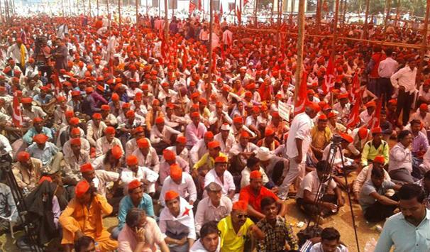 40 हज़ार किसान मुंबई में जमा- न कहीं जाम न कोई बस जली, गोदी मीडिया हैरान