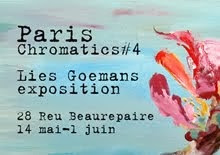 exposition Paris 14 mai-june/july-aug-sept also expo online in Paris