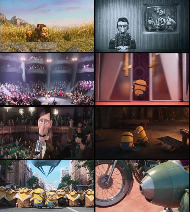 Minions 2015 Dual Audio Hindi 720p BRRip 800mb