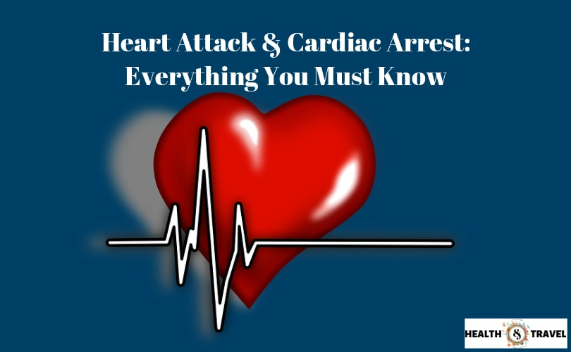 heart attack and cardiac arrest differences