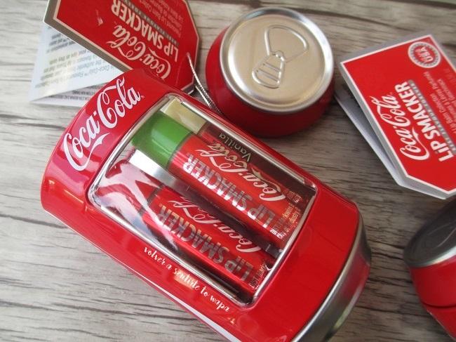 Lip Smacker edición Coca-Cola