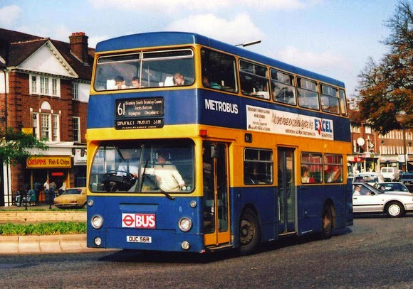 Steve's Bus & Train Page: Metrobus Special