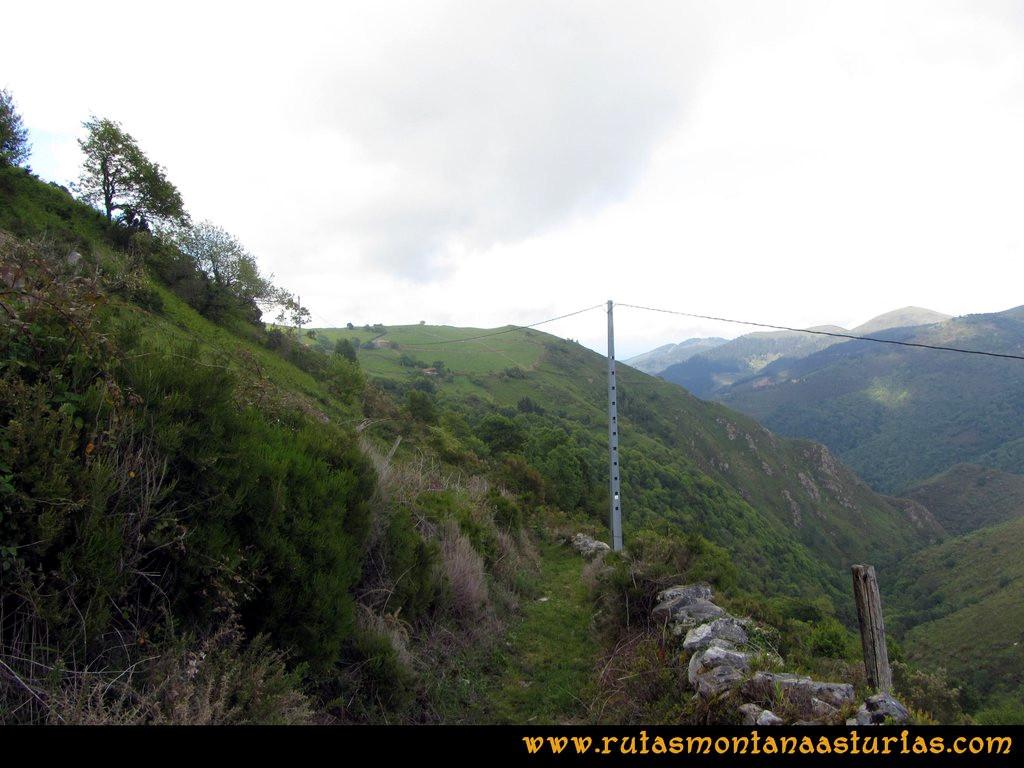 Ruta Llan de Cubel y Cueto: Sendero a Busfrío