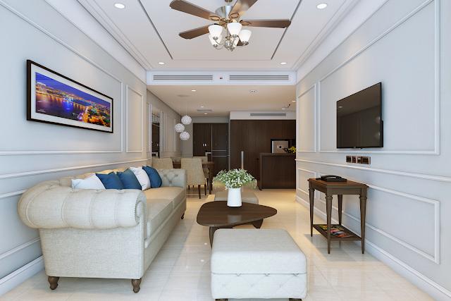 Hình ảnh căn hộ mẫu nhóm A dự án Luxury Apartment Đà Nẵng