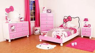 Gambar Ranjang Hello Kitty 2