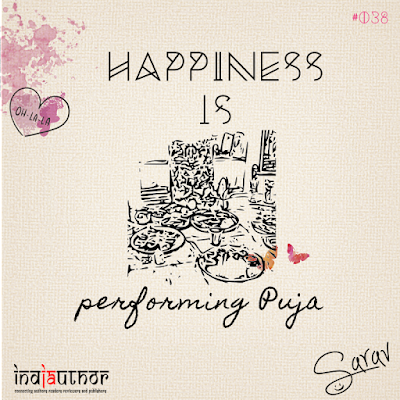 Happiness is performing Puja!