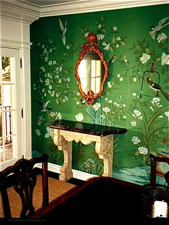 Room Design Color Green