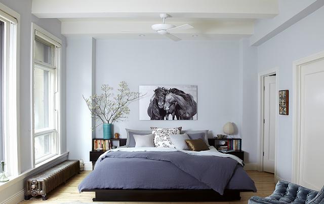 Ventilador de teto quarto casal