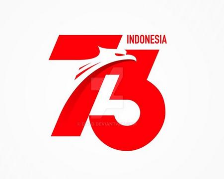 Kumpulan Logo HUT RI ke 73 terbaru 2020 yang Unik