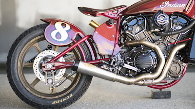 Indian Scout Custom Exhaust by Roland Sands Design