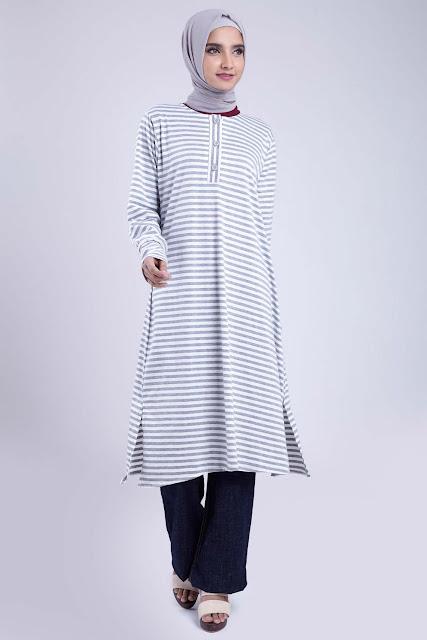 Hijab Style Tunic Dress.