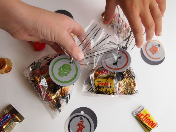 Grab them while you can! Halloween Treat Bag Tags with @PSAEssentials stamps