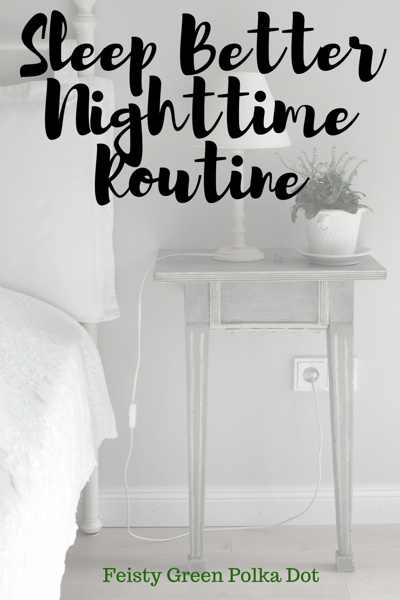 Nighttime before bed routine