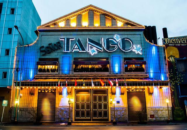 Señor Tango em Buenos Aires