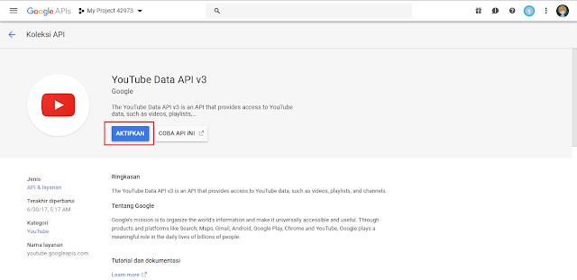 Cara Mendapatkan api youtube