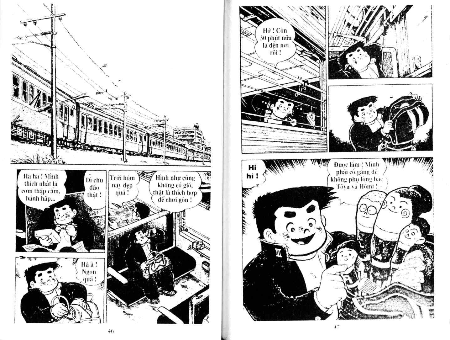 Ashita Tenki ni Naare chapter 11 trang 22