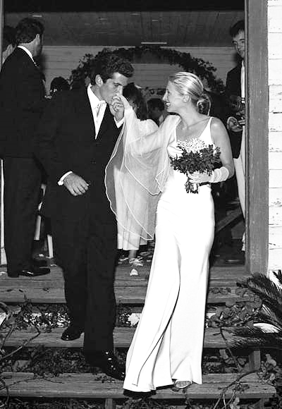 John F. Kennedy, Jr. and Carolyn Bessette wedding