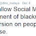 We will not allow Social Media to be used as an instrument of blackmail - Dino Melaye