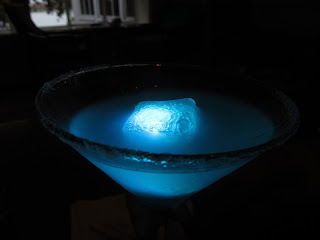 The Disney Monorail Pub Crawl Glow-tini