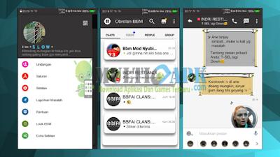 Aplikasi BBM Mod Minimal V3 Base 2.13.1.14 Apk For Android