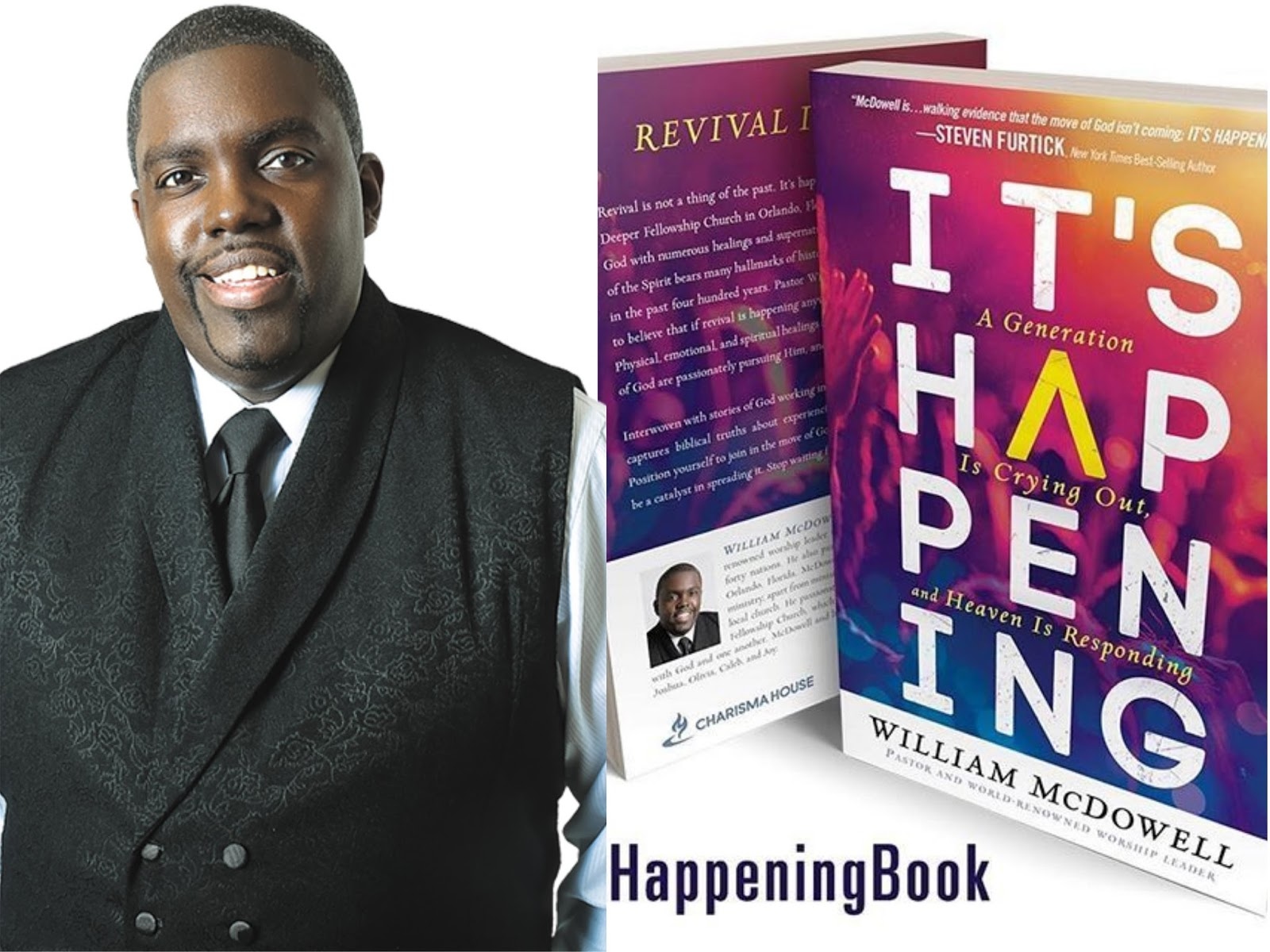 William McDowell Book. Its Happening. Gospel Redefined