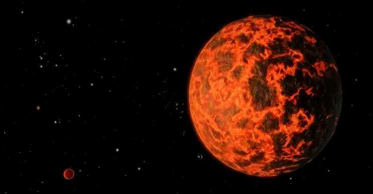 Gliese 436-b bir yandan çok sıcak bir yandan da çok soğuk olabilen bir gezegendir.