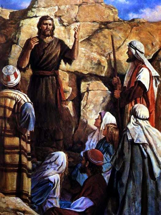 Io e un po' di briciole di Vangelo: (Gv 1,6-8.19-28) In mezzo a voi sta uno  che voi non conoscete.