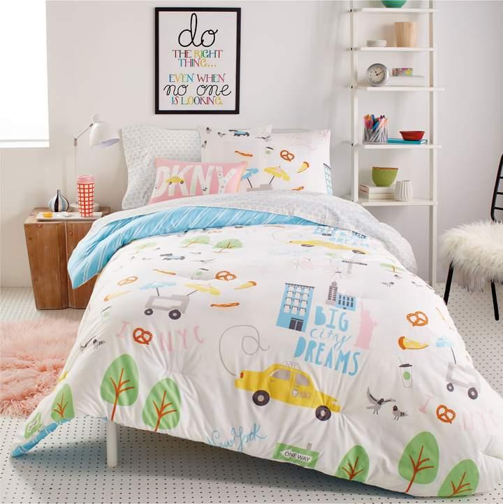 DKNY Big City Dreams Comforter, Sham & Accent Pillow Set