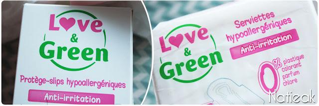 Love & green : hygiène intime féminine