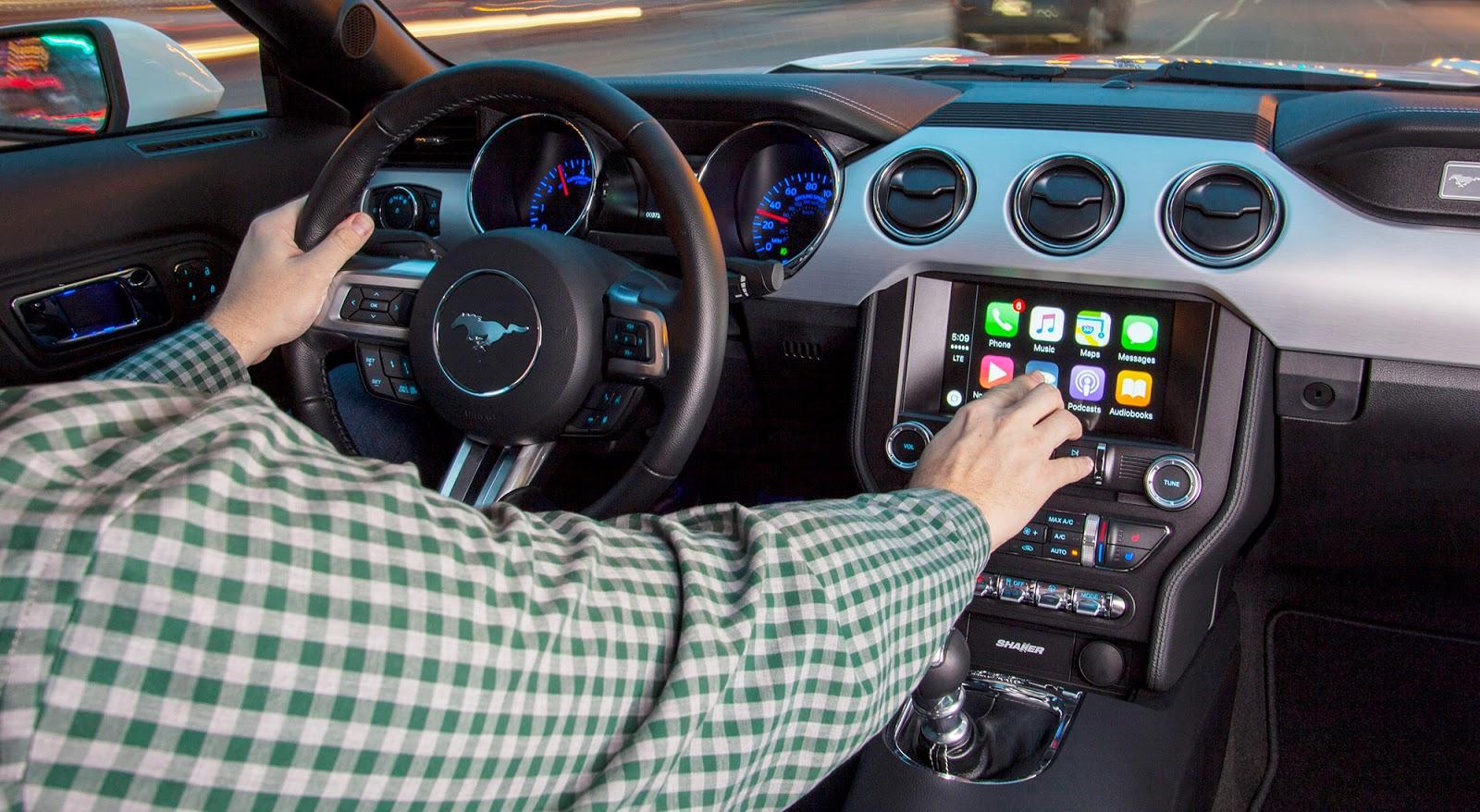 Các dòng xe của Ford luôn dẫn đầu sự thông minh