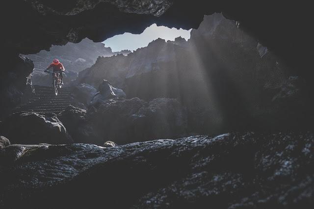 El Hierro, Mountain bike salvaje con David Cachon