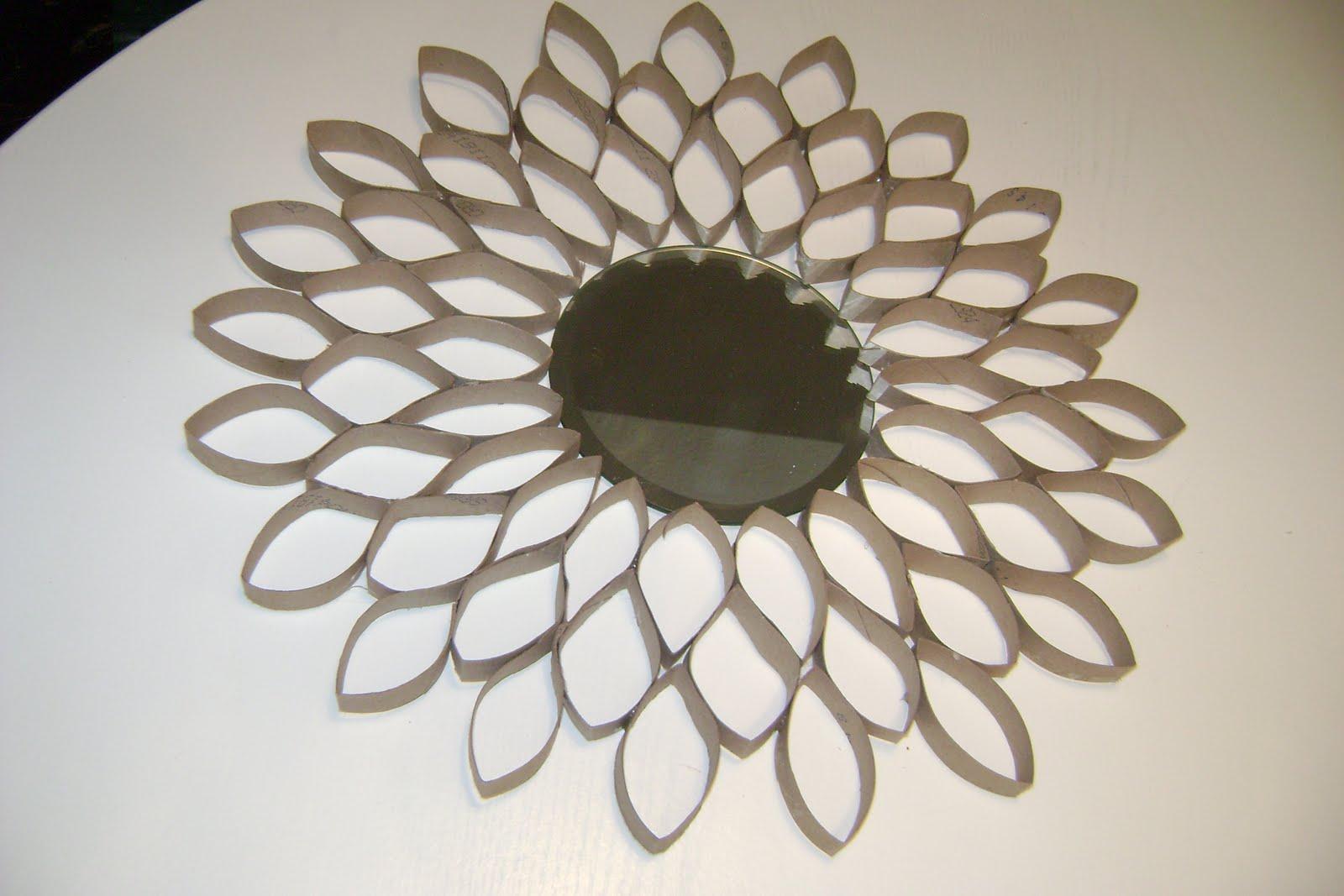 homemaker in heels toilet paper roll flower starburst. Black Bedroom Furniture Sets. Home Design Ideas