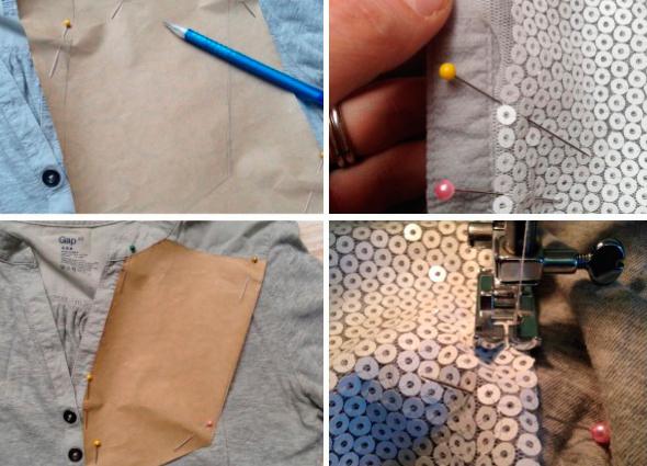 camisetas, customizar, bricomoda, moda, manualidades, labores