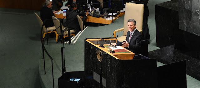 Macri en la Asamblea General de la ONU