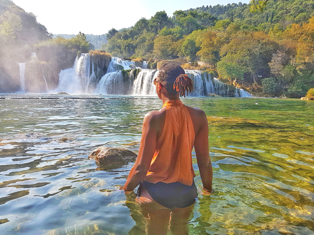 Croatia Krka Waterfal Skradinski buk