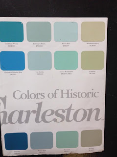 diy southern porch going haint blue and charleston green. Black Bedroom Furniture Sets. Home Design Ideas