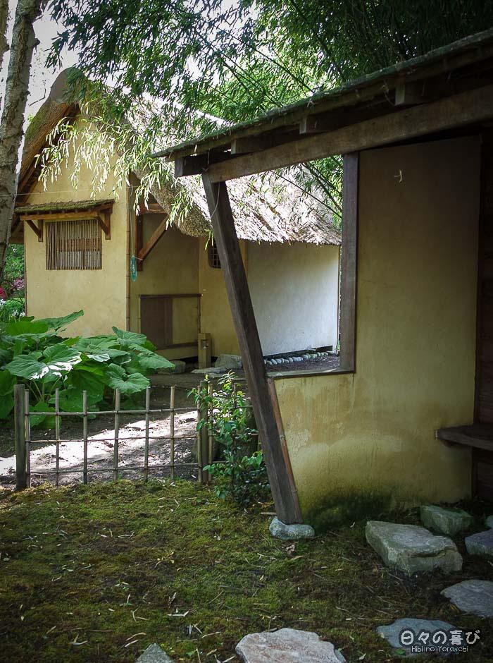 jardin japonais musica nigella, kiosque attente salon de thé
