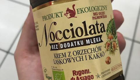 Krem z orzechów i kakao, Nocciolata