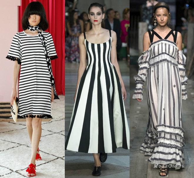 Модные платья 2017: фото, новинки, тенденции