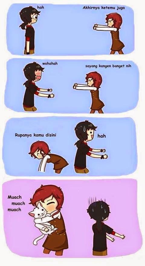 komik - komik lucu hasil karya anak indonesia