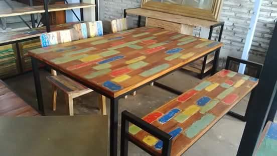desain meja makan unik dan antik