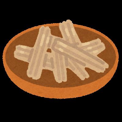 焙烙皿のイラスト