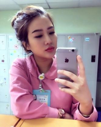 Photos of Carina Linn, 23, from Taiwan dubbed the 'world's sexiest nurse'