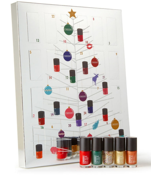 Cheeky nail polish Advent calendar 2015