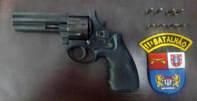 Roncador: Homem efetua disparos de arma de fogo em via pública e ameaça vizinhos