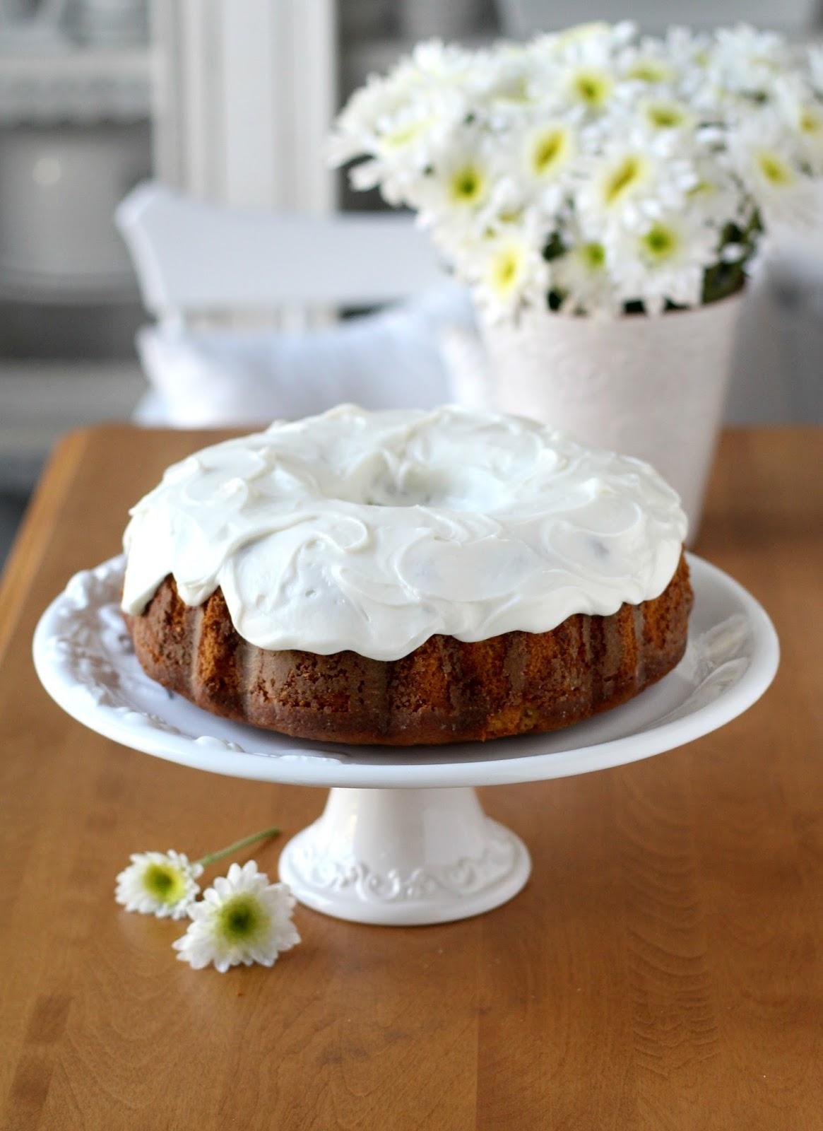 Sweet Potato Pound Cake With Cream Cheese Frosting Grateful Prayer