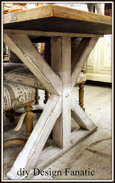 farmhouse table, vintage finds, diydesignfanatic.com, farmhouse style, cottage style