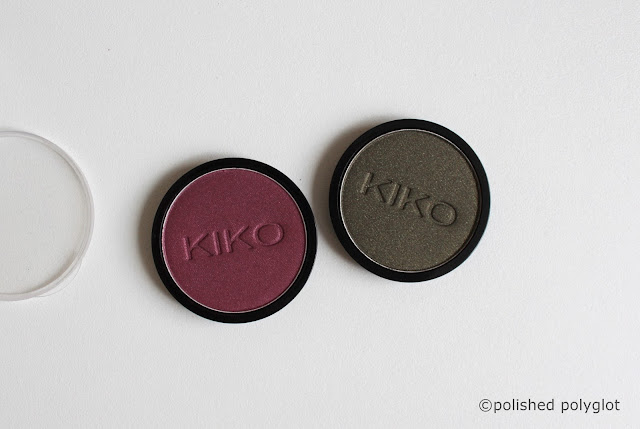 Shopping Makeup Haul  Kiko Milano Infinity eyeshadow