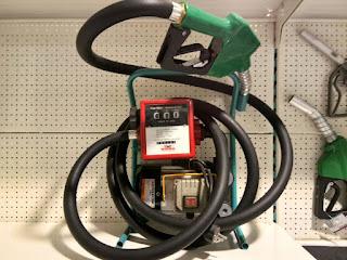Pompa Minyak Solar Elektrik dengan Flow Meter 3 Digit - Wipro