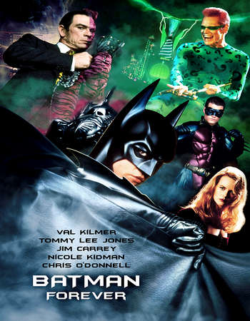 Batman Forever 1995 Hindi Dual Audio 550MB BluRay 720p HEVC Free Download Watch Online downloadhub.in